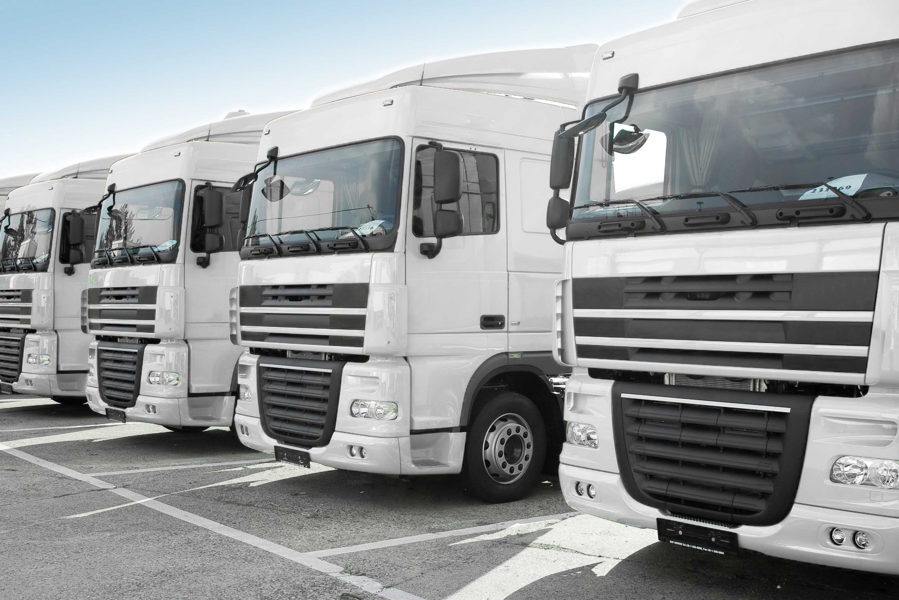 HGV Insurance for fleet- Front View